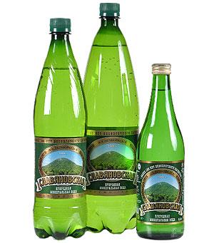 Минеральная вода Славяновская