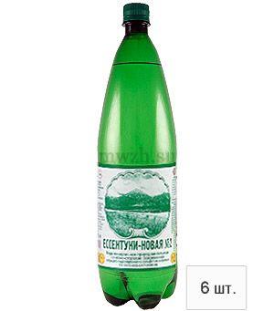 Ессентуки-Новая №2 лечебно-столовая минеральная вода 1,5л пэт  (6 бутылок)