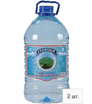 Графский горный источник минеральная вода 5л пэт (2 бутылки)