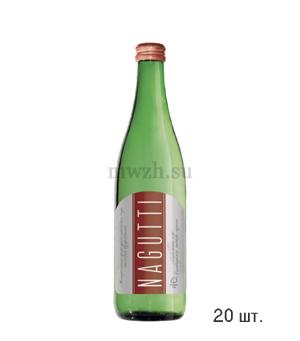 Nagutti столовая негазированная минеральная вода 0,5л стекло (20 бутылок)