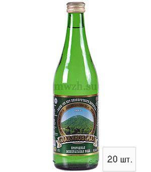 Славяновская лечебно-столовая минеральная вода 0,5л стекло (20 бутылок)