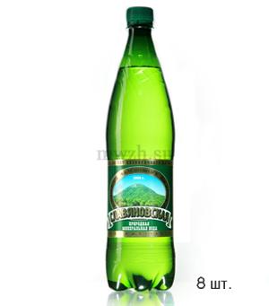 Славяновская лечебно-столовая минеральная вода 1л пэт  (8 бутылок)