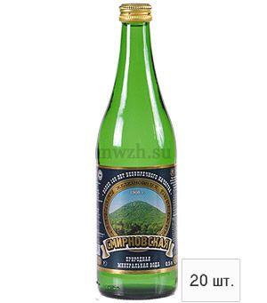 Смирновская лечебно-столовая минеральная вода 0,5л стекло (20 бутылок)