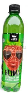"""ELIMA """"Зеленый чай со вкусом клубники"""" напиток без газа 0,5л пэт (12 бутылок)"""