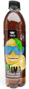 """ELIMA """"Черный чай со вкусом лимона"""" напиток без газа 0,5л пэт (12 бутылок)"""