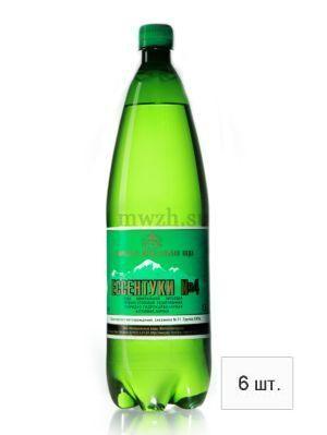 Ессентуки №4 лечебно-столовая минеральная вода 1,5л пэт  (6 бутылок)