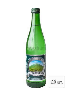 Ессентуки №4 лечебно-столовая минеральная вода 0,5л стекло (20 бутылок)