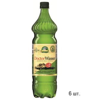 Doctor Wasser Ессентуки-Новая №2  лечебно-столовая минеральная вода 1,5л пэт  (6 бутылок)