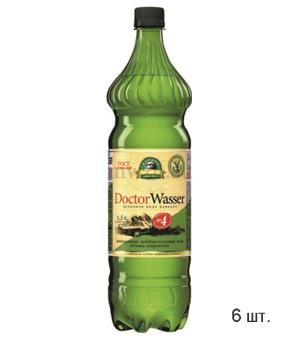 Doctor Wasser Ессентуки №4  лечебно-столовая минеральная вода 1,5л пэт (6 бутылок)