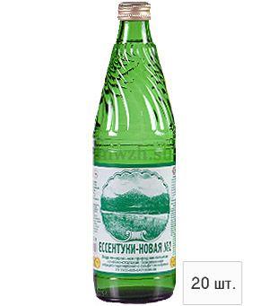 Ессентуки-Новая №2 лечебно-столовая минеральная вода 0,5л стекло (20 бутылок)