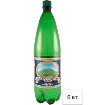 Смирновская лечебно-столовая минеральная вода 1,5л пэт  (6 бутылок)